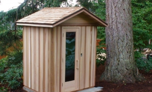 Bloomfield Hills MI Home Sauna - Portable Spas Plus Saunas Inc. - Outdoor_7