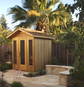 Rochester MI Commercial Sauna - Portable Spas Plus Saunas Inc. - Outdoor_8