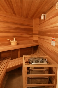 Orchard Lake MI Home Sauna - Portable Spas Plus Saunas Inc. - precut1