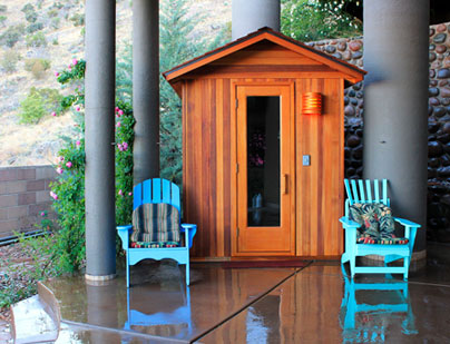 Orchard Lake MI Sauna Room - Portable Spas Plus Saunas Inc. - main-content